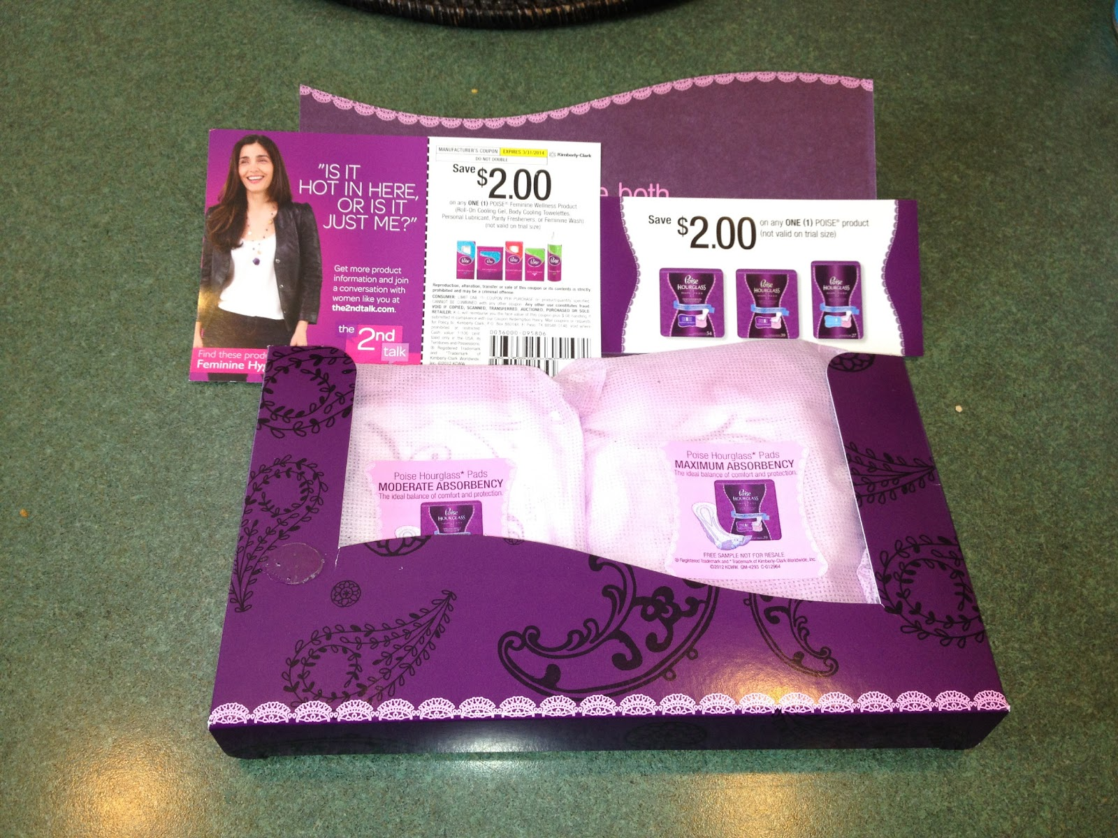 Request Your FREE Poise Feminine Product Samples with Coupons + ...