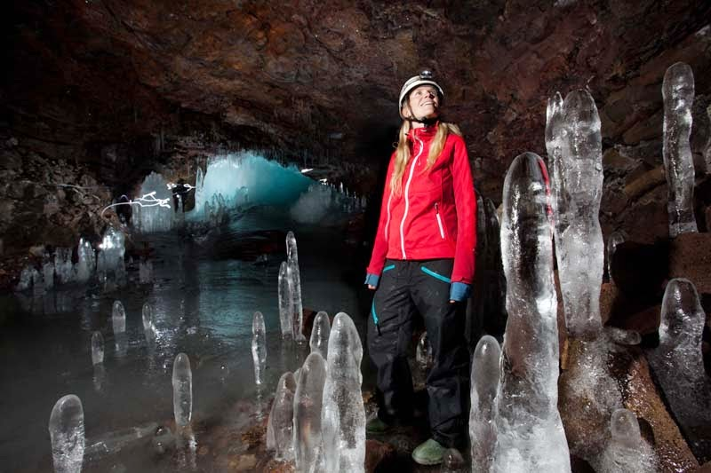Cueva Lofthellir en Islandia