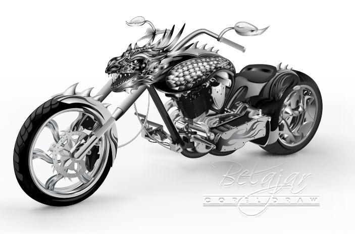 Dragon Rider-Free Download Vector (cdr)