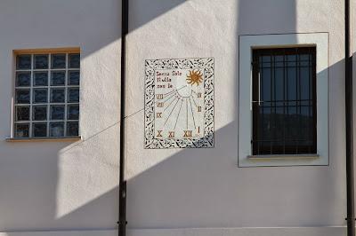 Sundial in Villanova Mondovì