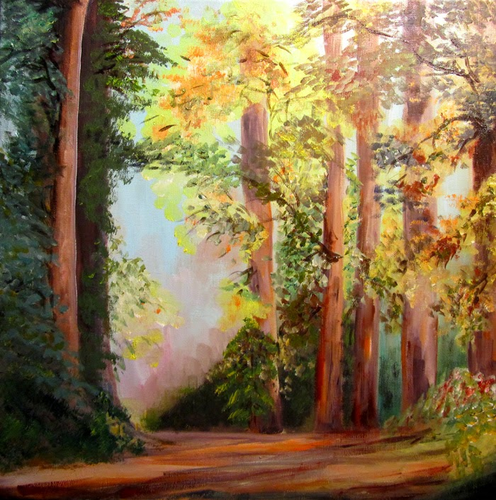 the forest pathway