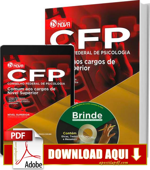 Apostila CFP DF 2015 Nível Superior Impressa PDF Download Grátis