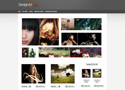 Design Cart E-commerce