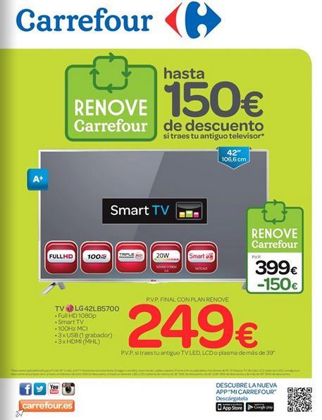 Carrefour Catalogo Carrefour Televisores Renove Mayo 2015