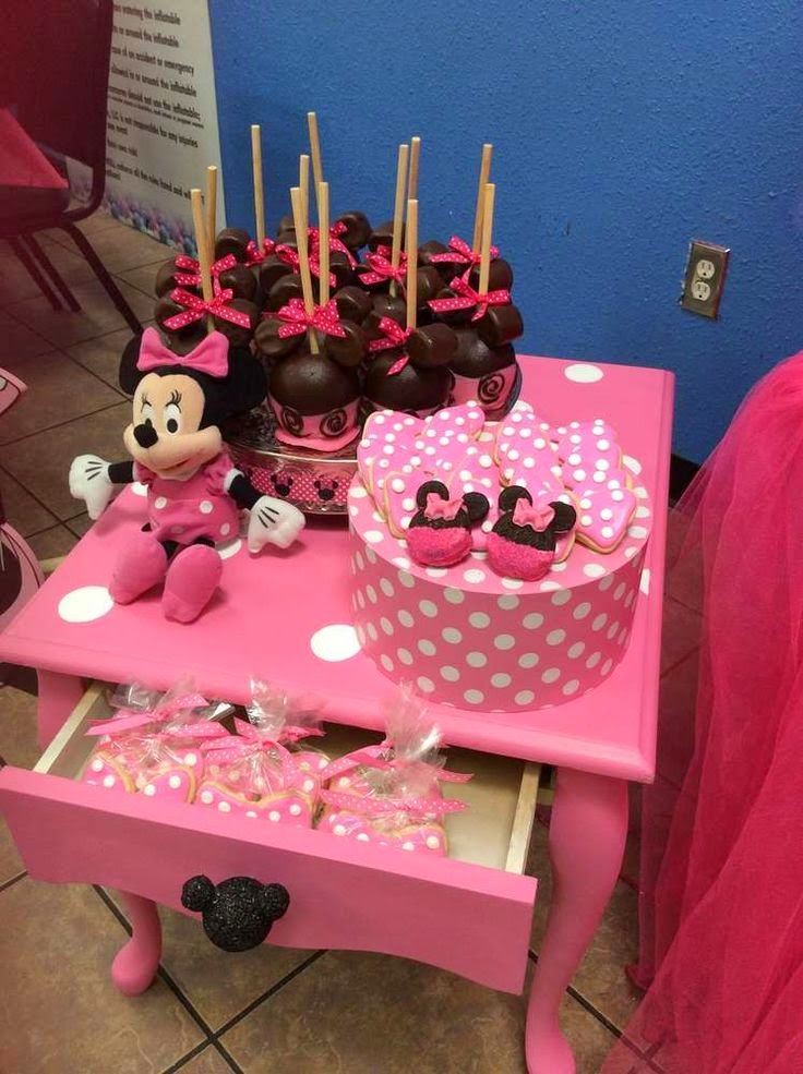 Decoración de Fiesta de Minni Mouse