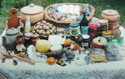 Productos caseros. Artesanos y artesanías regionales