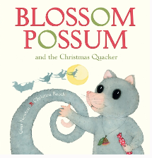 http://schoolessentials.scholastic.com.au/Product/8255884/Blossom%20Possum%20and%20the%20Christmas%20Quacker