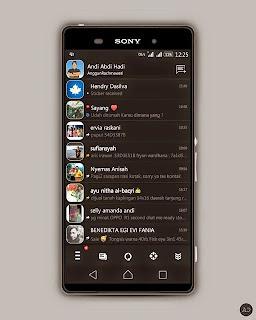 BBM MOD Black Revolutions v3 based Versi 2.8.0.21 APK