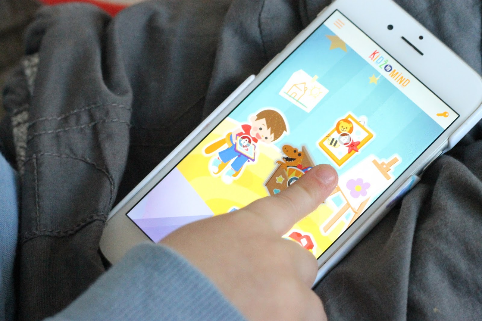 KidzInMind app review, educational kids apps