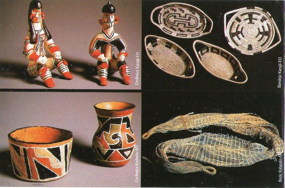 Artesanato Folclorico Da Região Sul ~ Postcards Journey Brazil Artesanato Indigena cer u00e2mica