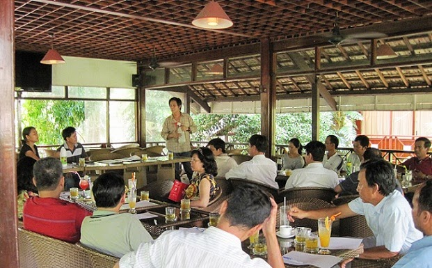 Love Potion and Swiftlet Farming Talk (Seminar) in Vietnam Hội thảo diễn đàn tại Việt Nam