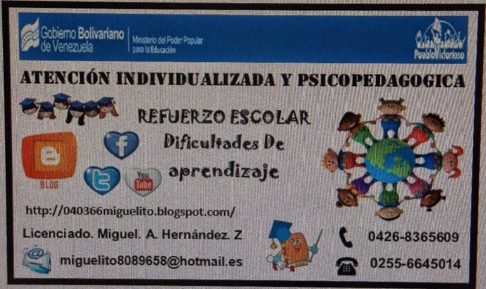 SERVICIO DE PSICOPEDAGOGIA