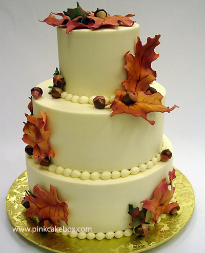 Wedding Planning Fall Wedding Cake Ideas