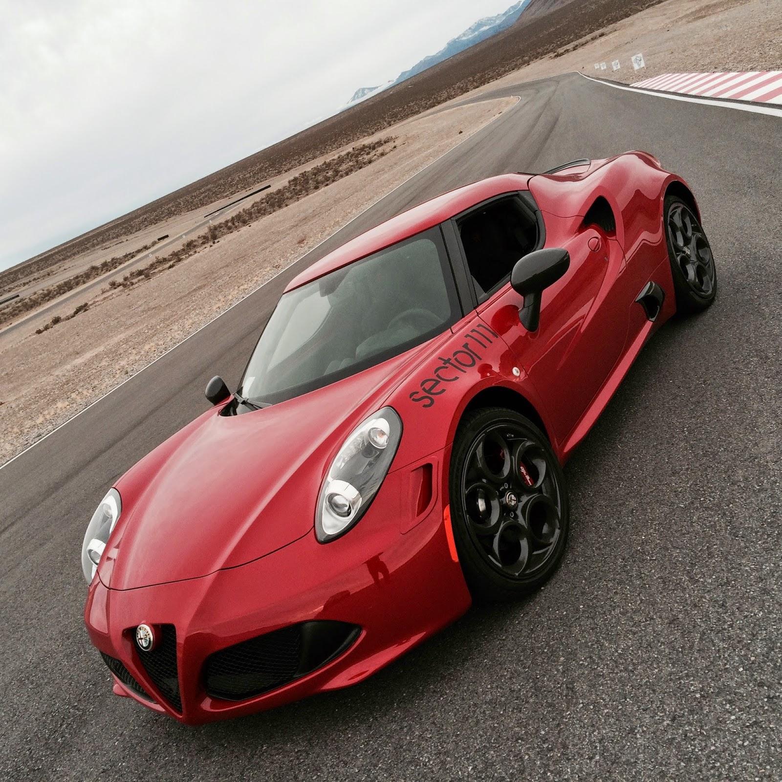 Sector111's Tasty Innovations Blog: Track Testing The Alfa