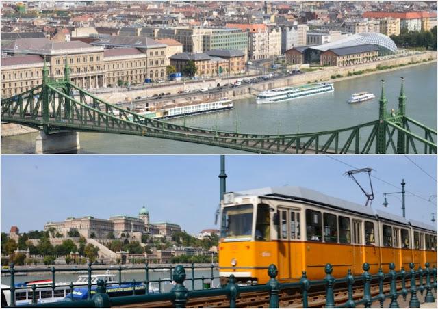 Budapest - le Danube et le tram