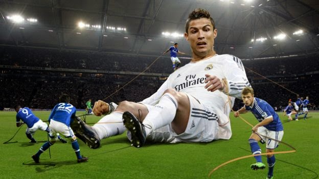 Cristiano Ronaldo - (1-0) - (2-1) 18/03/14 - Champions League 13/14
