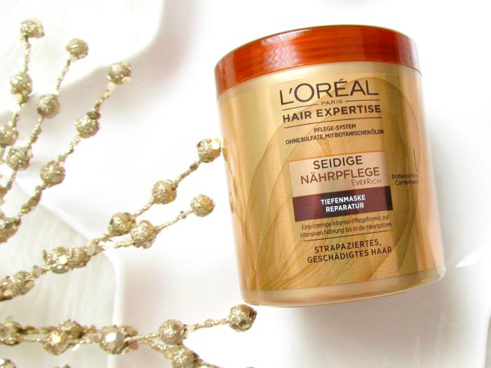 L´Oréal Hair Expertise Seidige Nährpflege - Tiefenmaske Reparatur