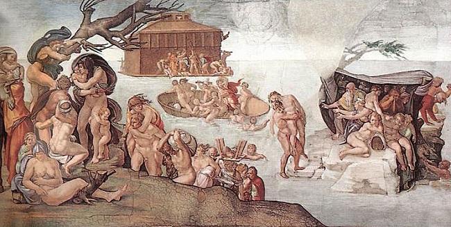 Οι Κατακλυσμοί, που βρέθηκε τοσο νερό να σκεπάσει όλη την Γη?
