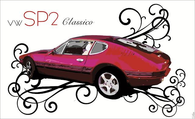 Desenho do Volkswagen SP2