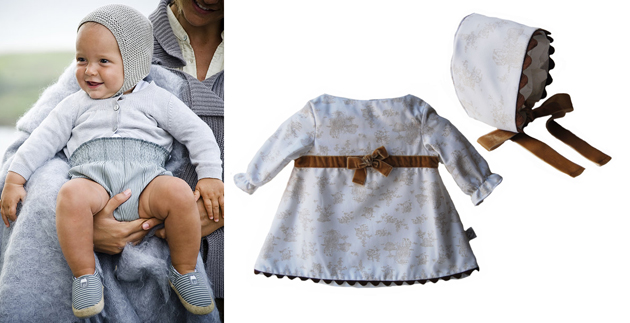 ropa bautizo bebe 5 meses