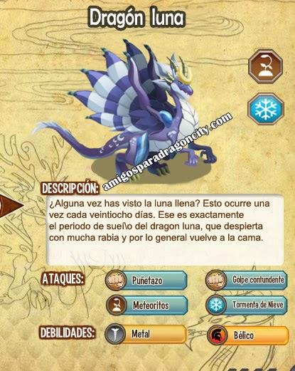 imagen del moon dragon y sus caracteristicas
