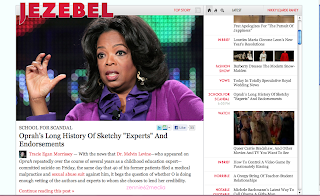 Jezebel, Gawker, etc. New Layout