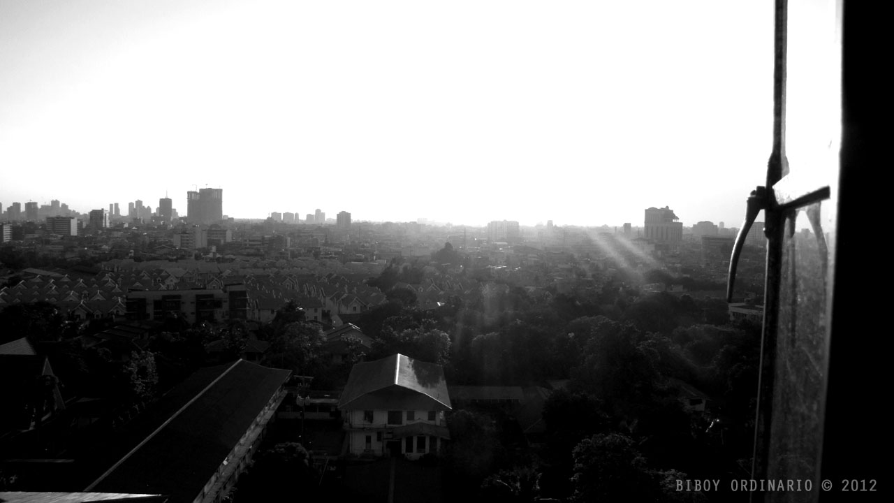 Quezon City Skyline facing West