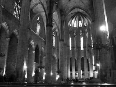 Church of Santa Maria del Mar in Barcelona