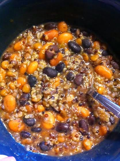 Ts Tasty Three-Bean Quinoa Chili