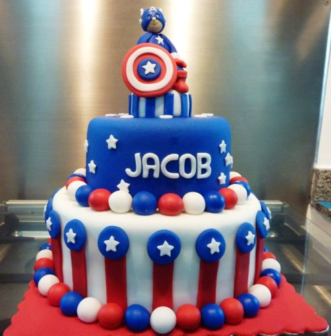 ... america birthday cake from yelp com the avengers birthday cake topper