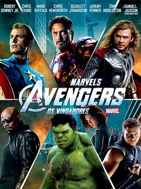 Filme Poster Os Vingadores R5 XviD Dual Audio & RMVB Dublado