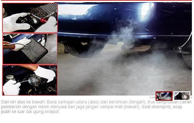 cara bersihkan saringan udara