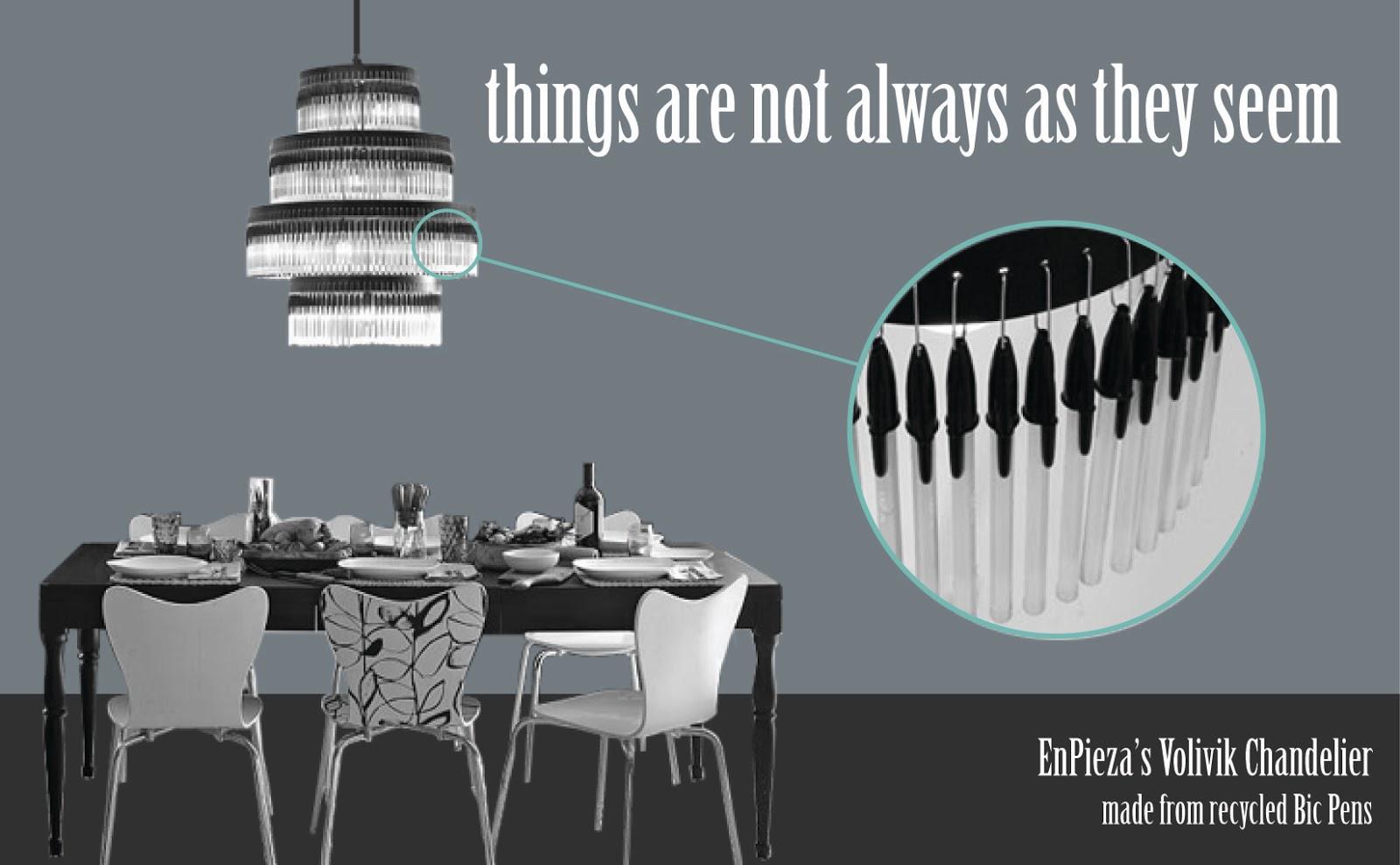 Lámparas hechas con BOLÍGRAFOS - Curiosas IDEAS