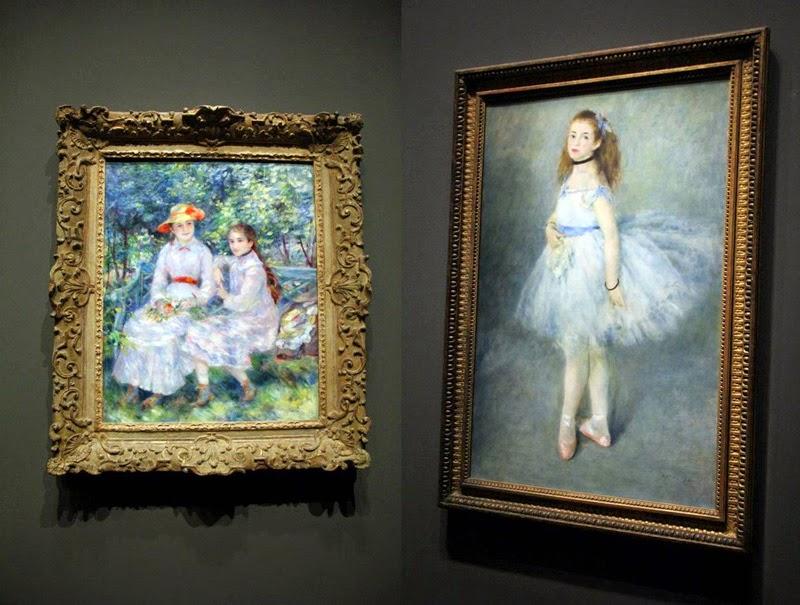 Renoir - Les filles de Durand-Ruel et Danseuse