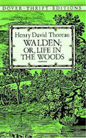 Cover of Walden by Henry David Thoreau