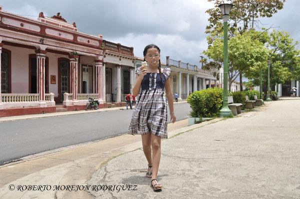 Pasando las vacaciones de verano en Cuba