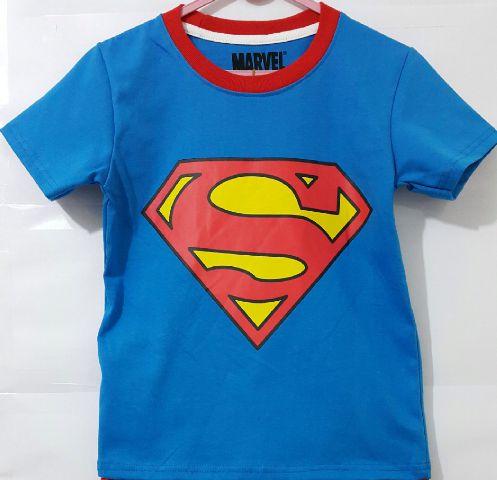 Baju Anak Karakter Superman Size 1 - 6 Y