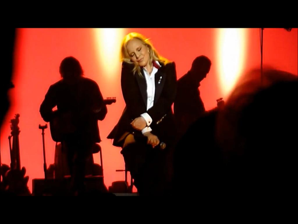 Sylvie Vartan, anoche en el Folie Bergère, en París