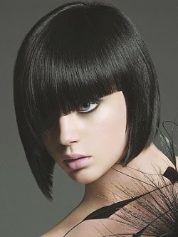 Sexy Blunt Bangs Hairstyles 2015