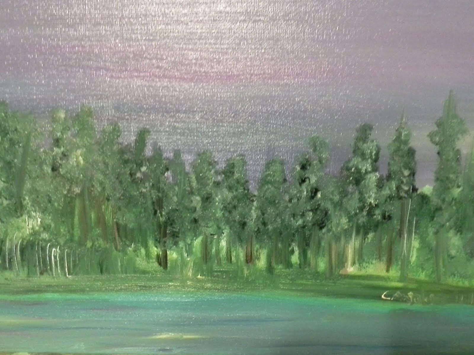 bosco in lontananza