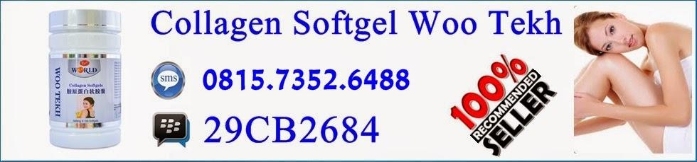 Collagen softgel woo tekh nutrisi kulit terbaik dan ampuh