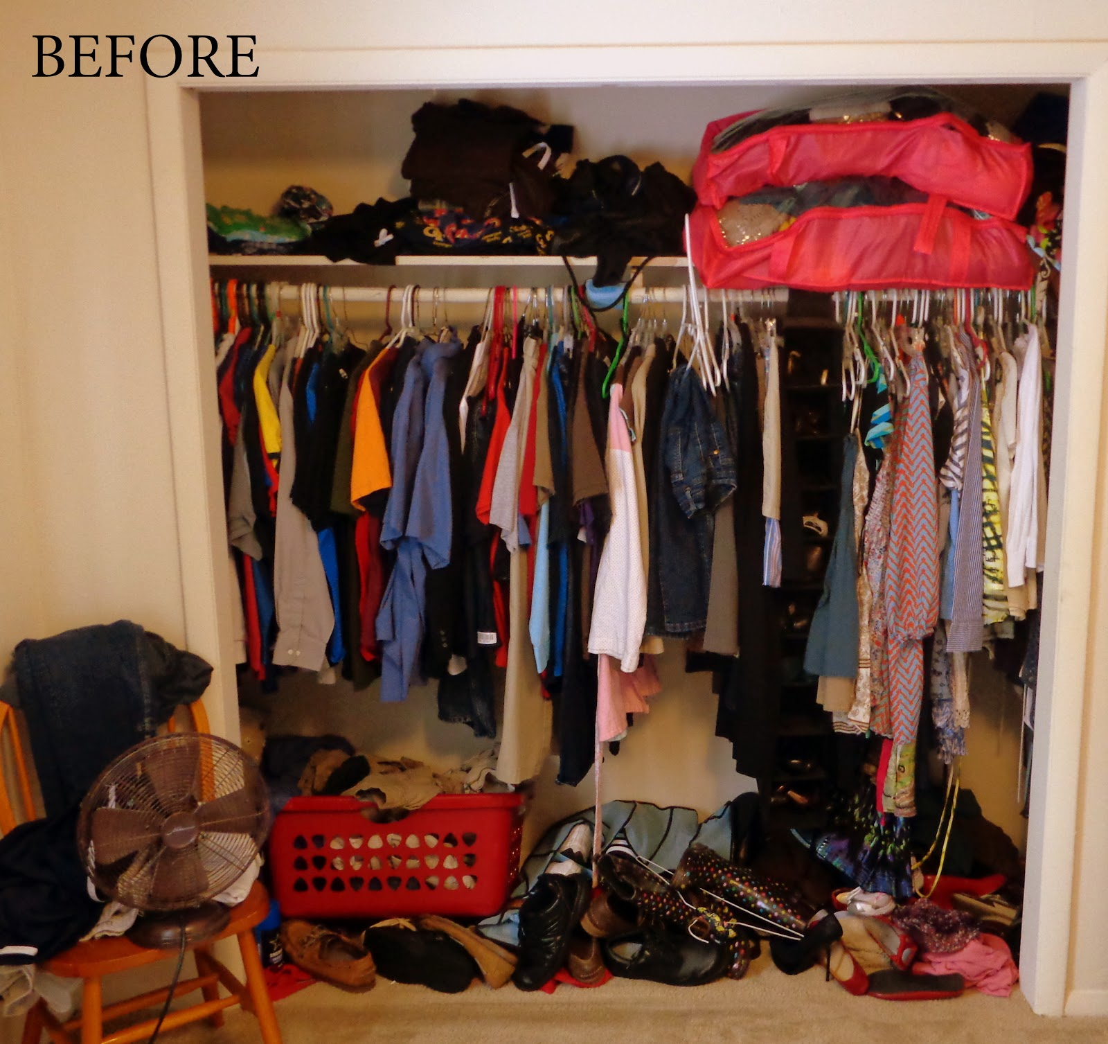 staggering organizing a closet in an apartment | Roselawnlutheran