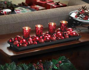 Centros de Mesa, Navidad Velas, parte 2