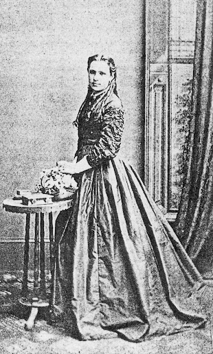 Portrait Mary Coneley nee Strickland. c. 1862