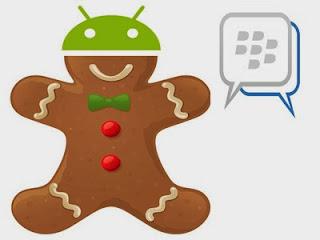 Cara Instal BBM di Android Gingerbread 2.3