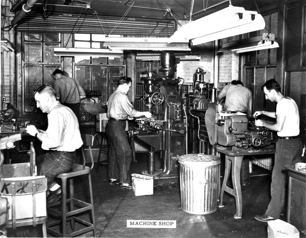 machine engineering school