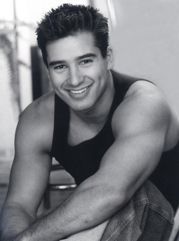 Mario Lopez Went Running In His