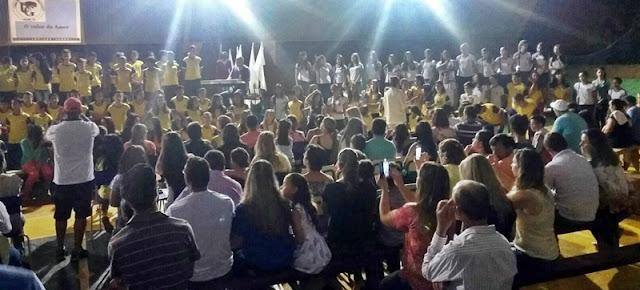 """Roncador: Colégio Ulysses encanta com o evento """"Família, Escola e Valores"""""""