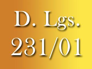 Ai sensi del D.Lgs 231/2001 viene introdotto nell'ordinamento legislativo italiano il principio della responsabilità amministrativa degli enti per reati commessi nel loro interesse o a loro vantaggio da soggetti che rivestono funzioni di rappresentanza