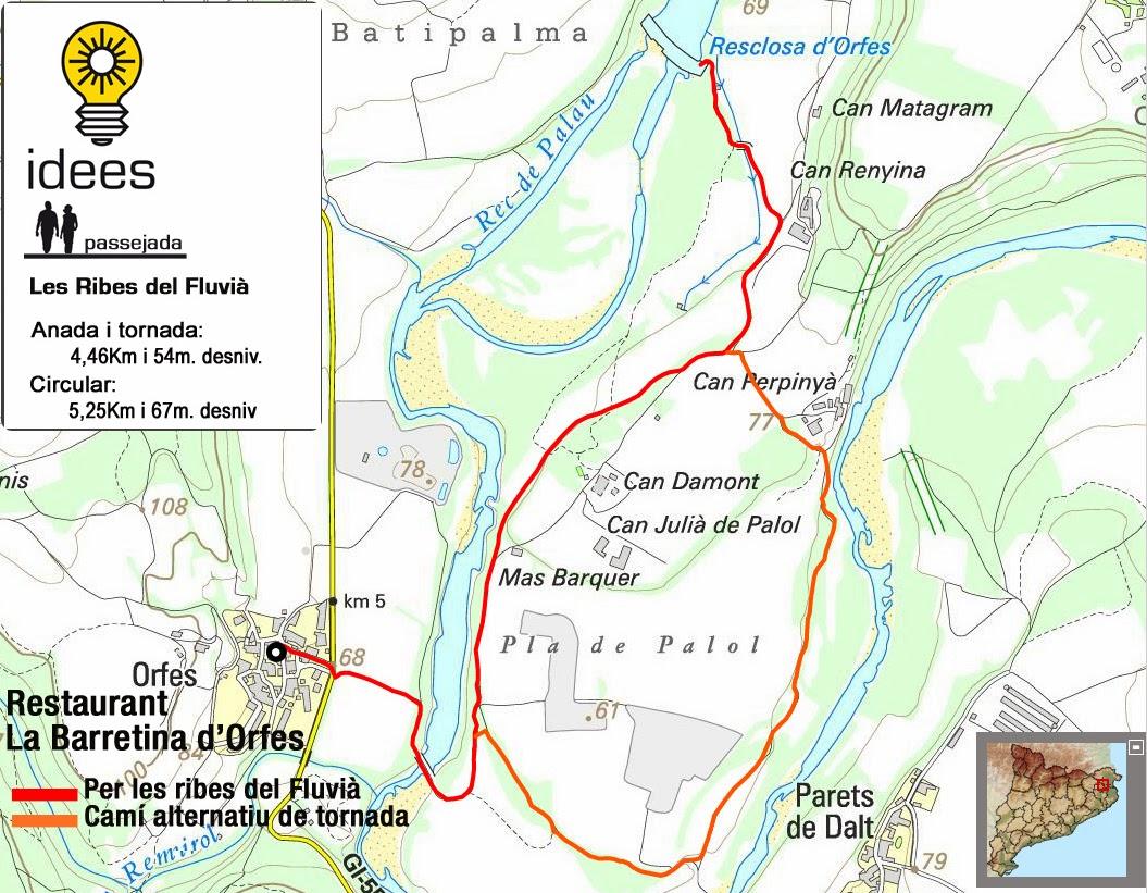 Mapa, Rutes senderisme, Marta Rotllan, Idees, Idees i Assessorament Turístic